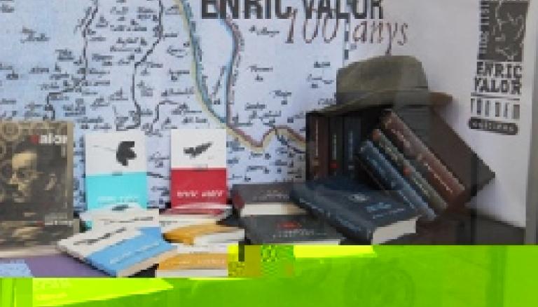 Llibreria guanyadora del Concurs dŽAparadors dŽEnric Valor
