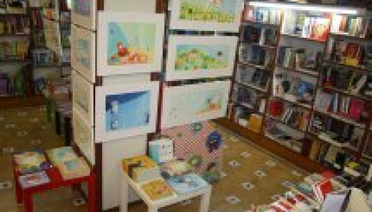 Exposició de Montse Gisbert en les llibreries de La Traca i Abacus
