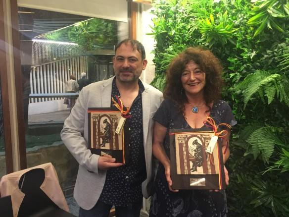 Teresa Broseta i Enric Senabre, guanyadors dels Premis Samaruc 2019