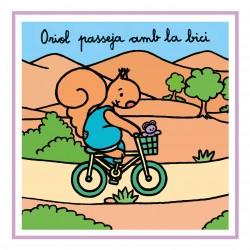 Oriol passeja amb la bici