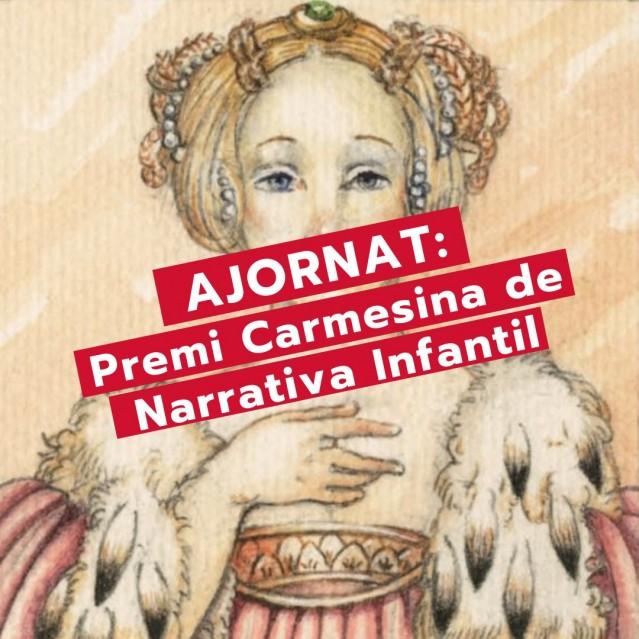 Se aplaza el Premio Carmesina de Narrativa Infantil